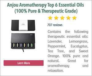 Anjou Aromatherapy Top 6 Essential Oils 100% Pure & Therapeutic Grade